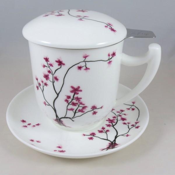 Deckeltasse Cherry Blossom