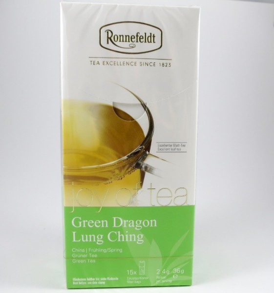 Green Dragon Lung Ching, Joy of Tea