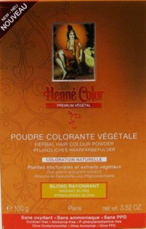 Henna Pulver Premium Strahlendes Blond