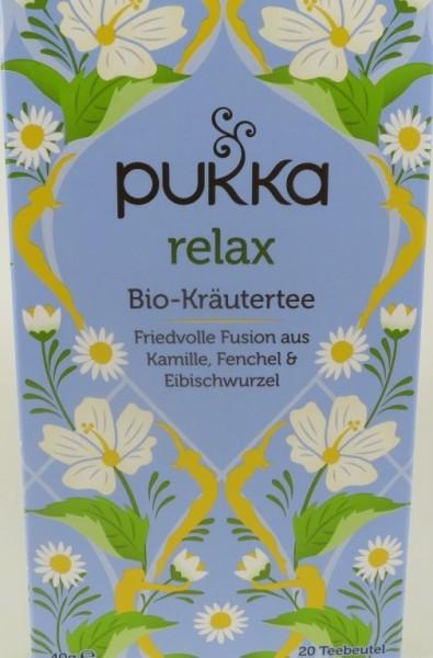 Pukka Relax Bio Kräutertee im Teebeutel