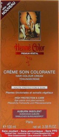 Henna Tönungscreme Sinnliches Burgunderrot Premium