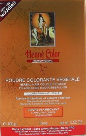 Henna Pulver Premium Feurig Kupfer