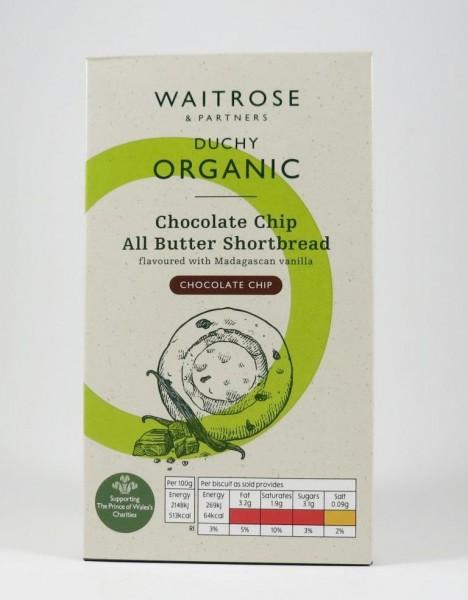 Englisches Buttergebäck Bio: Chocolate Chip All Butter Shortbread