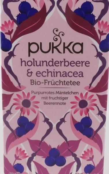 Pukka Holunderbeer & Echinacea Bio, Kräutertee im Teebeutel