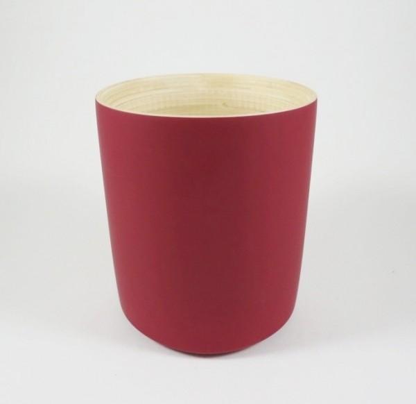 Bambus Becher Rot
