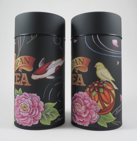 Japan Tea 'Fisch und Vogel' Dosenpaar