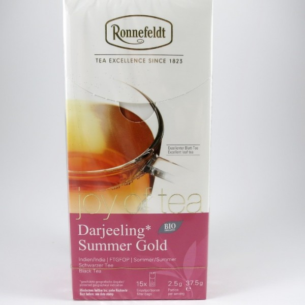 Darjeeling Summer Gold BIO, Joy of Tea