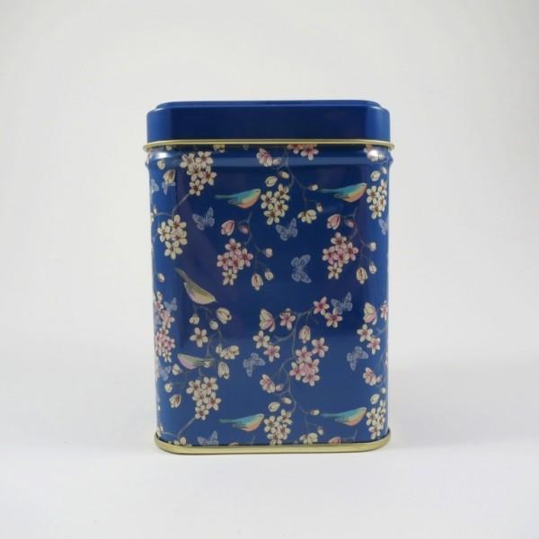 Teedose Vögel und Blumen