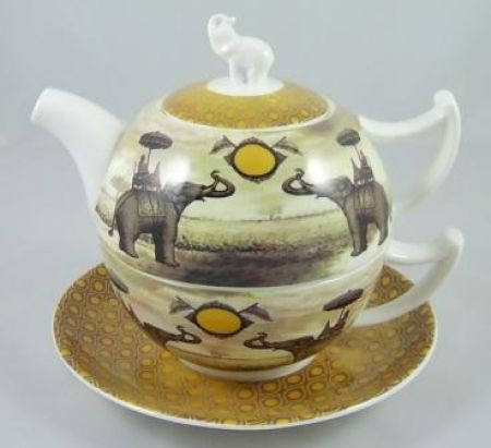 Empire tea-for-one