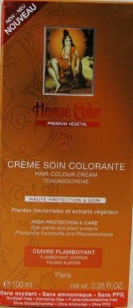 Henna Tönungscreme Feuriges Kupfer Premium