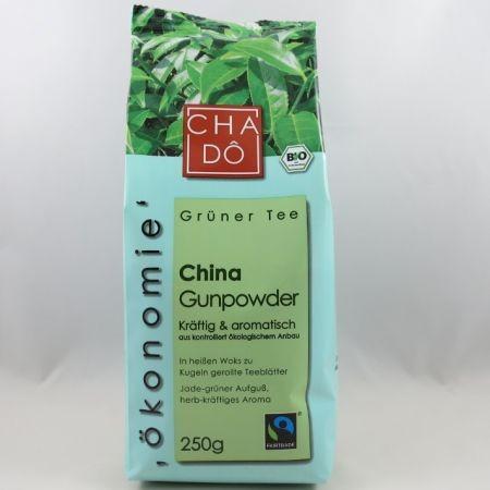 Fairtrade China Gunpowder BIO - 250g Packung