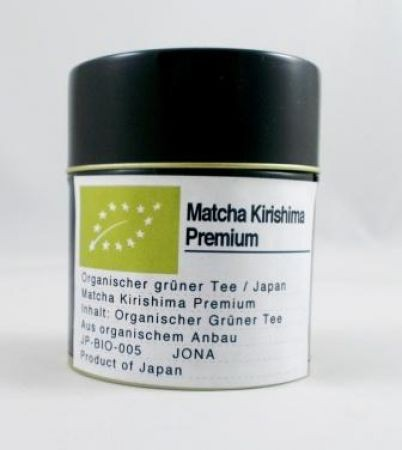 Matcha Kirishima Premium BIO 40g