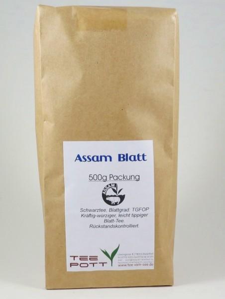 Assam Blatt | 500g Packung