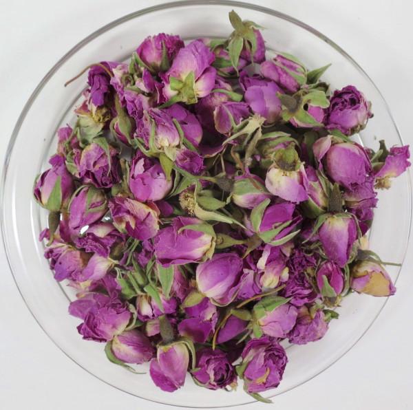 Rosenblüten, ganze Knospen BIO, 50g Packung