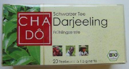 Teebeutel Darjeeling BIO