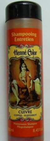 Henna Pflegeshampoo KUPFER