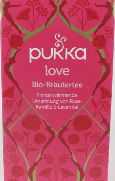 Pukka love - Bio Kräuterter im Teebeutel