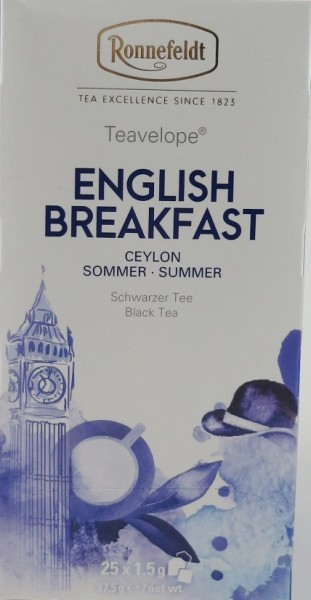 English Breakfast, Teavelope®