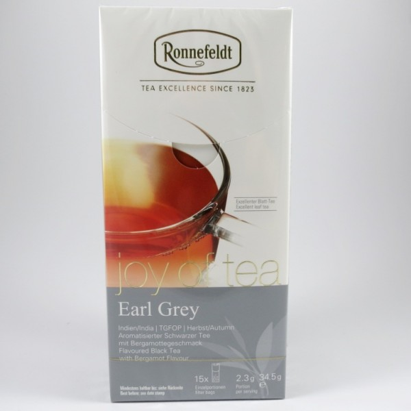 Earl Grey, Joy of Tea
