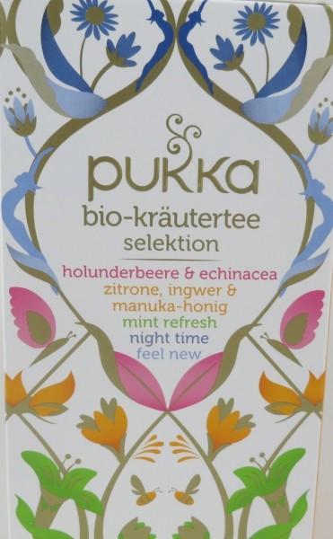 Kräutertee Selektion Bio, Pukka