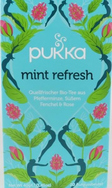 Pukka Mint Refresh Bio Kräutertee im Teebeutel