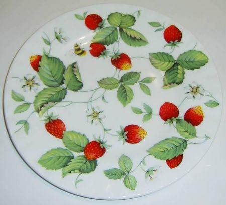 Teller 21cm, Strawberry