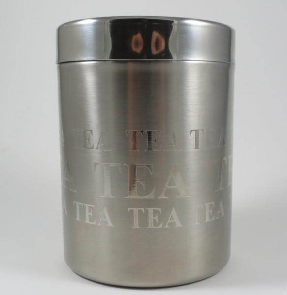 Edelstahldose Tea