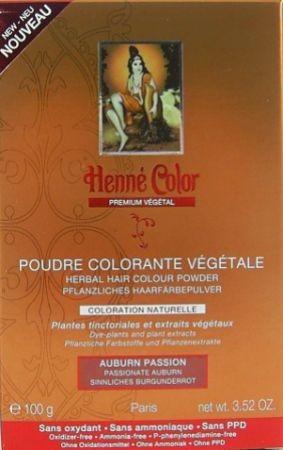 Henna Pulver Premium Flammendes Mahagoni