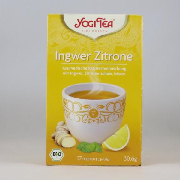 Yogi Ingwer Zitrone Tee