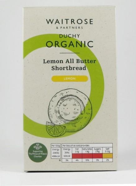 Englisches Buttergebäck Bio: Lemon All Butter Shortbread