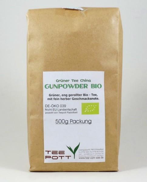 Gunpowder BIO | 500g Packung