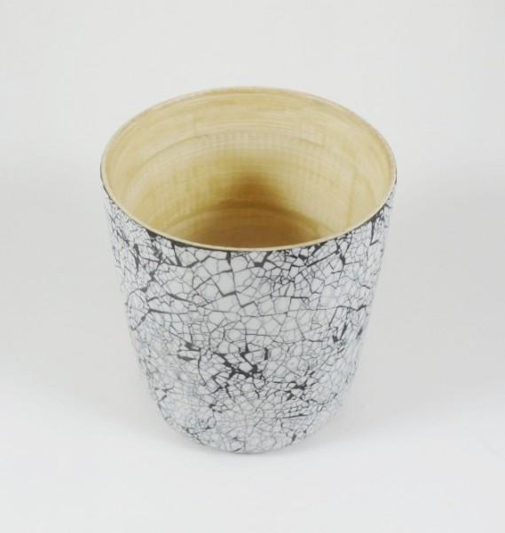 Bambusbecher Dekors 'Eischale', edel und elegant