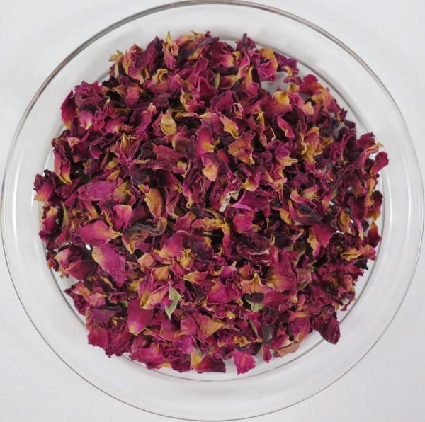 Rosenblüten Blätter geschn. 50g Packung